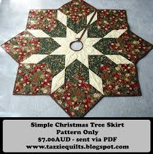 Quilted Christmas Tree Skirt Pattern | Lugares para visitar ... & Quilted Christmas Tree Skirt Pattern Adamdwight.com