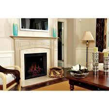 classic flame 39eb500gra 39 vent free electric fireplace insert with fixed door