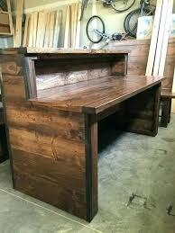 home office desk vintage. Office Desk Plans Rustic Vintage Deck Regarding Plan Intended  For Home O