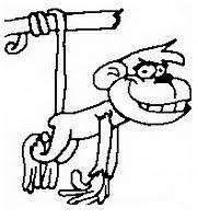 Scimmie Disegni Da Colorare E Stampare Gratis Immagini Per Bambini