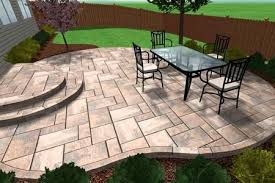 leading concrete patio installation