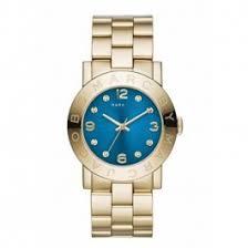 marc jacobs amy mbm3303 blue mens gold wrist watch marc jacobs amy mbm3303 blue mens gold wrist watch aud 159 95