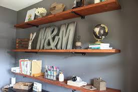 diy office shelves with diy industrial wood office shelving modish main cincinnati ques