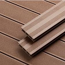 plastic decking material. Beautiful Material Upm Profi Terra Composite Decking Board 28mm X 128mm 3100mm Brown Inside Plastic Material K
