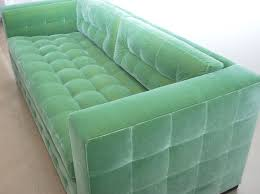 green leather modern tufted sofa for living room spaces ideas