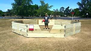 wooden gaga ball pit top dimensions flawless wood