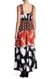 Msk Dresses Size Chart Msk Maxi Challis Dress Nordstrom Rack