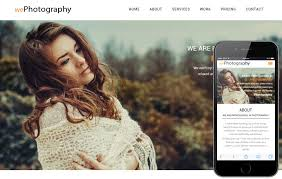 Free Photography Website Templates Custom We Photography A Photographer Portfolio Flat Bootstrap Responsive
