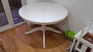 dining table and chairs ikea round extendable table ingatorp and 4 chairs henriksdal