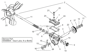 ariens 921320 098000 deluxe 30 parts diagram for gear case zoom
