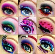 bright eyeshadow designs full avant garde