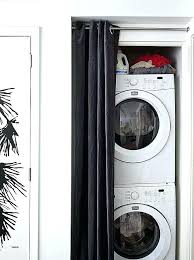 washer dryer for small apartment. Simple For Small Stacked Washer Dryer And Laundry Room Design Ideas  Spaces Awesome Invades Every Apartment  With For