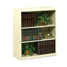bookcases metal bookcase with doors 3 shelf executive metal bookcase w locking glass doors x