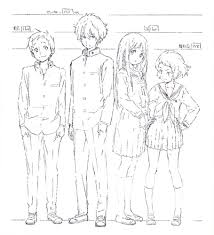Kyoani Character Design Animation And All It Encompasses