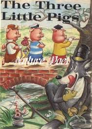 three little pigs vine storybook ilration by naturepoet 4 50