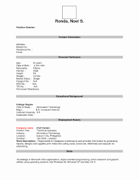 Printable Resume Form Free Printable Resume Templates Blank Unique Blank Resume