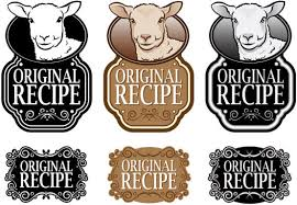 Recipe Labels Set Of Recipe Labels Vector Free Vector In Encapsulated