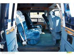 1994 Chevrolet Chevy Van G20 Passenger Conversion Rear Seat Photo ...