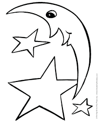 shape coloring page simple shapes coloring pages star shape coloring page stars for coloring shooting star shape coloring page