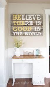 diy home decor ideas with pallets. diy pallet wood sign diy home decor ideas with pallets