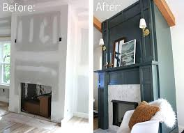 build a fireplace surround faux fireplace surround