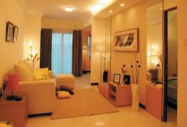 Small Picture Elegant Small Apartment Design with Loose Furniture Home