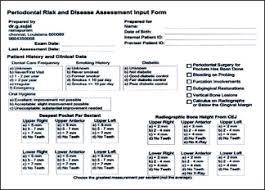 Pro Forma Calculator Periodontal Risk Calculator Versus Periodontal Risk Assessment Sai