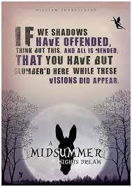 Life Is But A Dream Quote Shakespeare Best Of A Midsummer Night's Dream Shakespeare Quote Shakespeare Poster