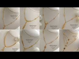 light weight gold chain necklaces