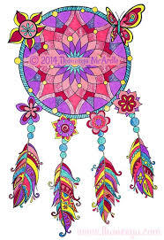 Books About Dream Catchers Hipster Coloring Book by Thaneeya McArdle Thaneeya 98