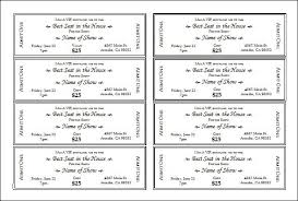 Microsoft Word Ticket Templates Ms Word Ticket Template Acepeople Co