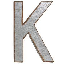 urban trends alphabet letter k wall decor reviews