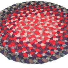 on vintage round braided rug oval rugs 4x6