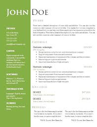 Free Resume Template For Mac Adorable Free Resume Templates For Pages Free Resume Templates For Mac
