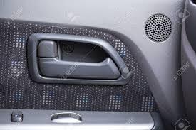 car door handle inside stock photo 37670356