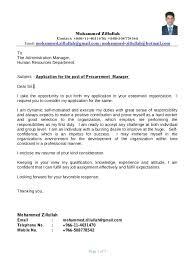 Resume Procurement Manager Russiandreams Info