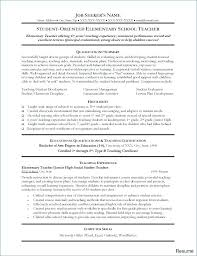 Substitute Teacher Resume Samples Directory Resume
