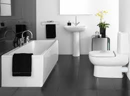 Bathroom Tiles Black And White 10 Black u0026 White Bathrooms 9 Of