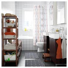 Ikea Bathroom Molger Shelf Unit Birch Ikea