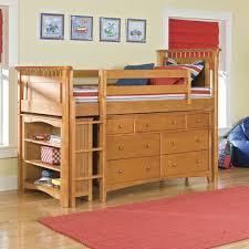 Floating Loft Bed Twin Loft Bed With Storage Kids Loft Bed Wwooden Ladder Clothing