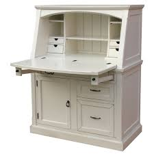 awesome white secretary desk with hutch with dimensions h x w x d 54 5