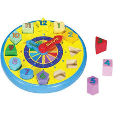 Melissa And Doug Wooden Games Custom Melissa Doug Wooden Shape Sorting Clock Wooden Toys