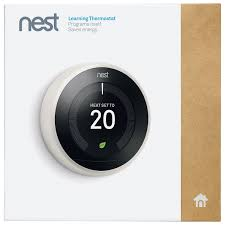 nest wi fi smart learning thermostat 3rd generation white only