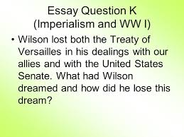 review imperialism and ww i ppt 4 essay question k imperialism
