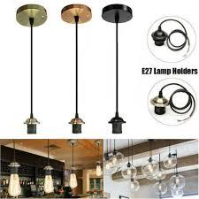 e27 ceiling rose light pvc fabric