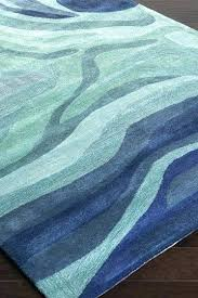 wave rug blue blue green rugs soothing wave rugs lifestyle blog bliss and with blue green