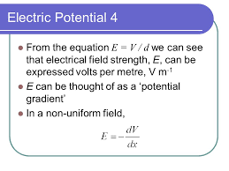 5 electric potential 4 from the equation