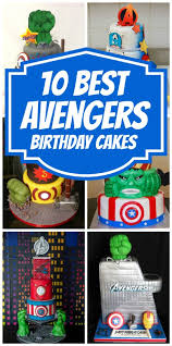 10 Awesome Marvel Avengers Cakes Pretty My Party