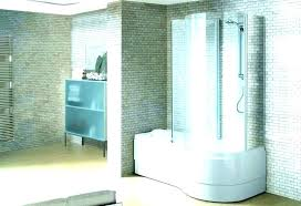 modern bath shower combo tub contemporary corner bathroom bathtub combinations design ideas cool