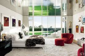 modern style bedroom.  Modern Sir Elton John And David Furnishu0027s Beverly Hills Master Bedroom To Modern Style Bedroom O